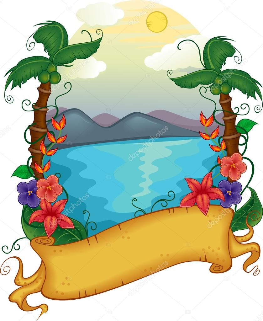 Resort clipart beach theme Lenmdp a Resort Banner Beach