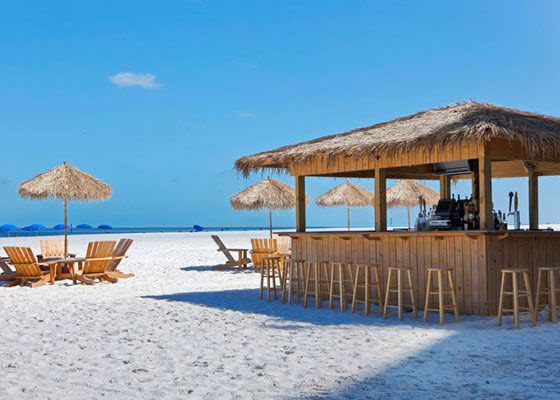 Resort clipart clean beach Clearwater Match Beach – White