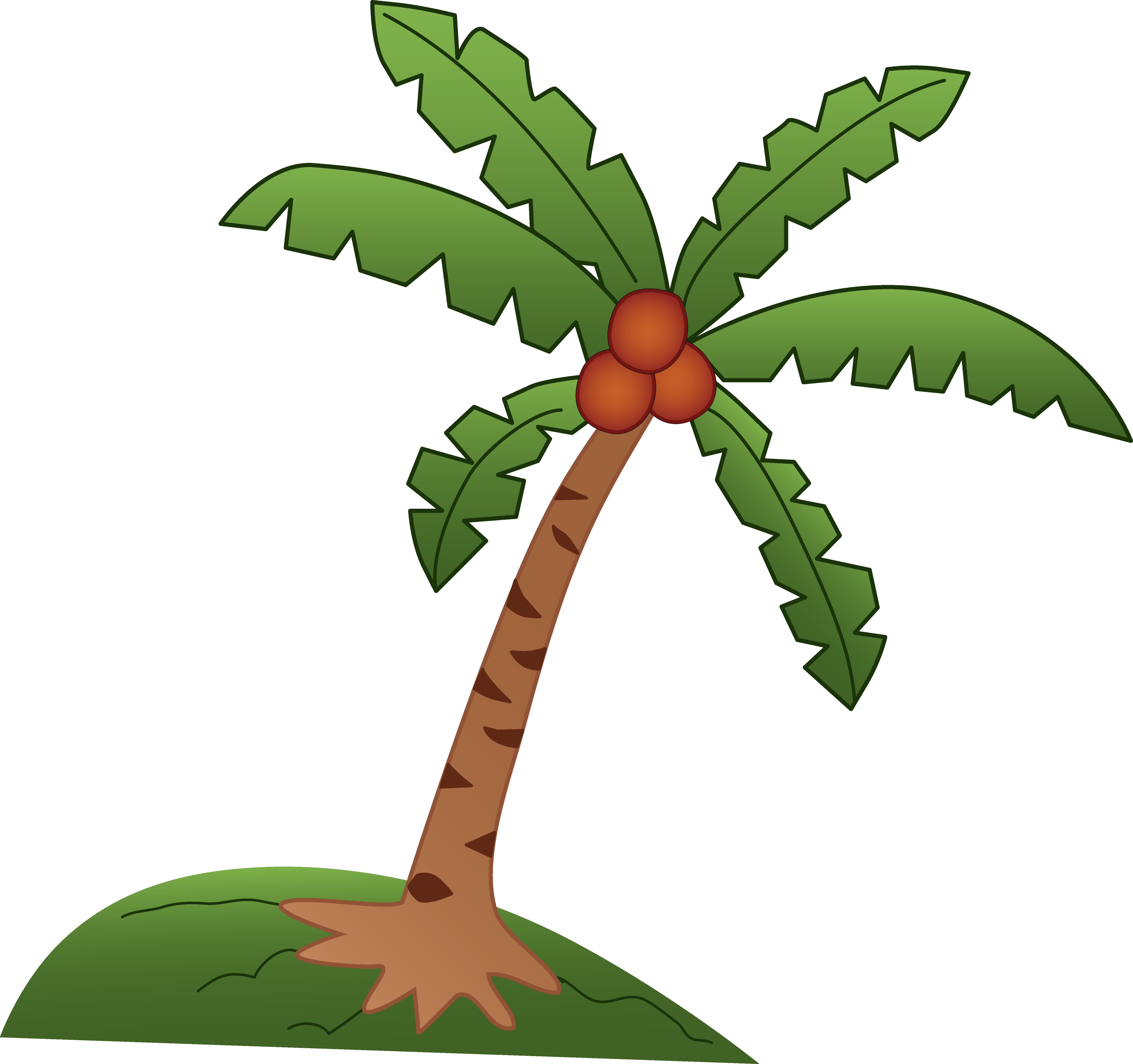 Roots clipart coconut #1
