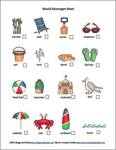 Compass clipart scavenger hunt Fun activities ideas Beach 25+