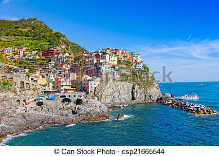Resort clipart summer day Stock Italy Picturesque  summer