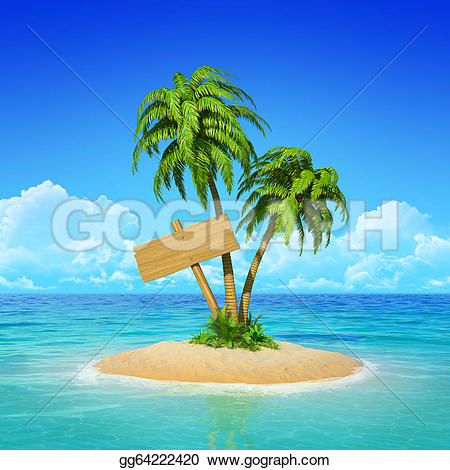 Resort clipart tropical island Wooden tropical tropical gg64222420 holidays
