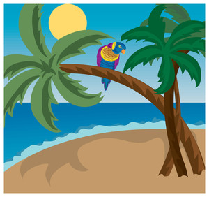 Resort clipart tropical island #3