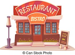 Restaurant clipart french restaurant Royalty and Vector free bistro
