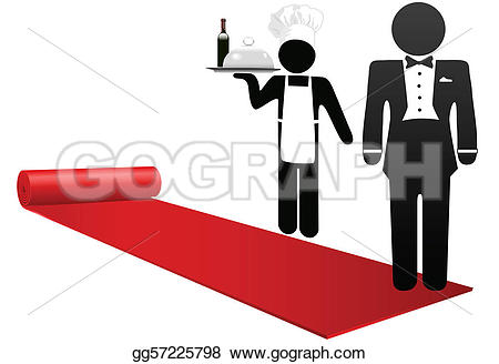 Restaurant clipart welcome Clip red People Hotel gg57225798