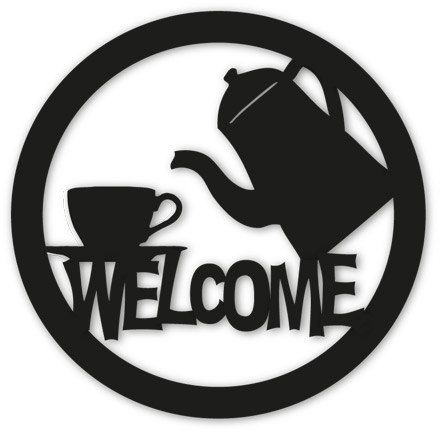 Restaurant clipart welcome Metal 1s / / Welcome