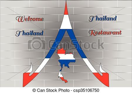 Restaurant clipart welcome Welcome Thailand  restaurant Thailand