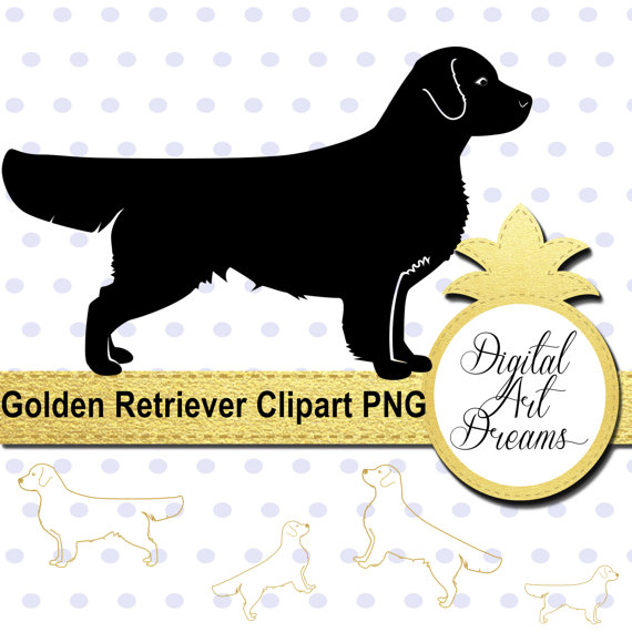 Retriever clipart pet animal #13
