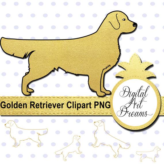 Retriever clipart pet animal #8