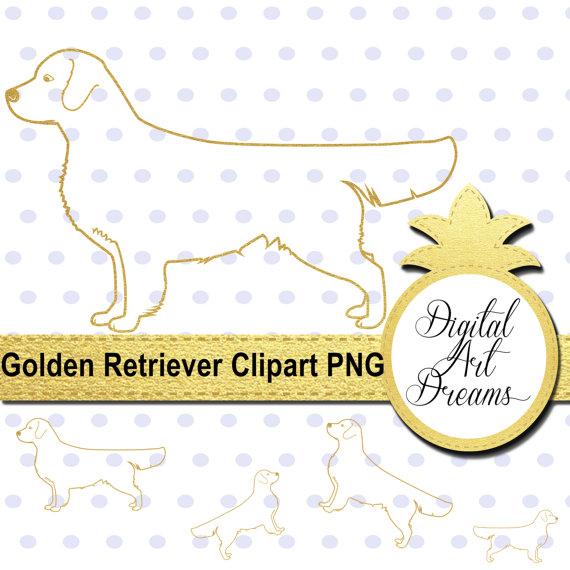 Retriever clipart pet animal #12