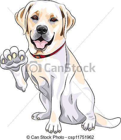 Retriever clipart pet animal #6