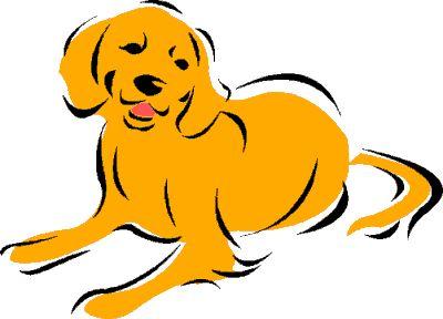 Retriever clipart pet animal #1
