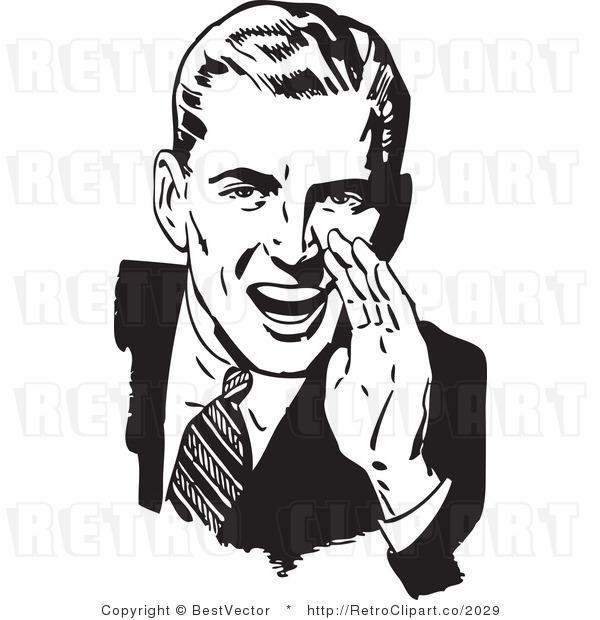 Retro clipart Font clip 1950s Vintage cartoons