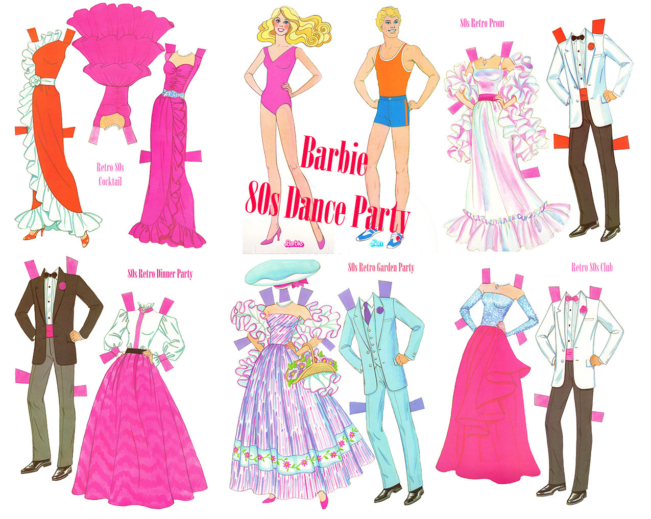 Retro clipart dinner party #15
