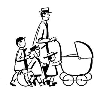 Retro clipart fathers day #4