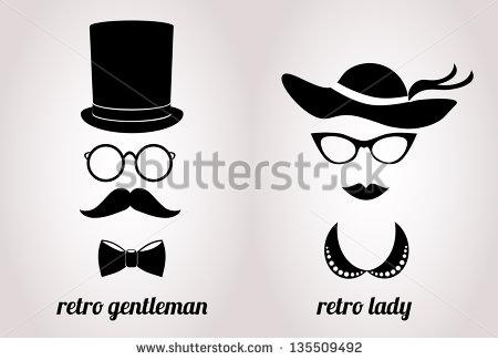 Retro clipart gentleman #6