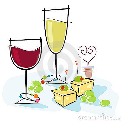 Retro clipart wine #9