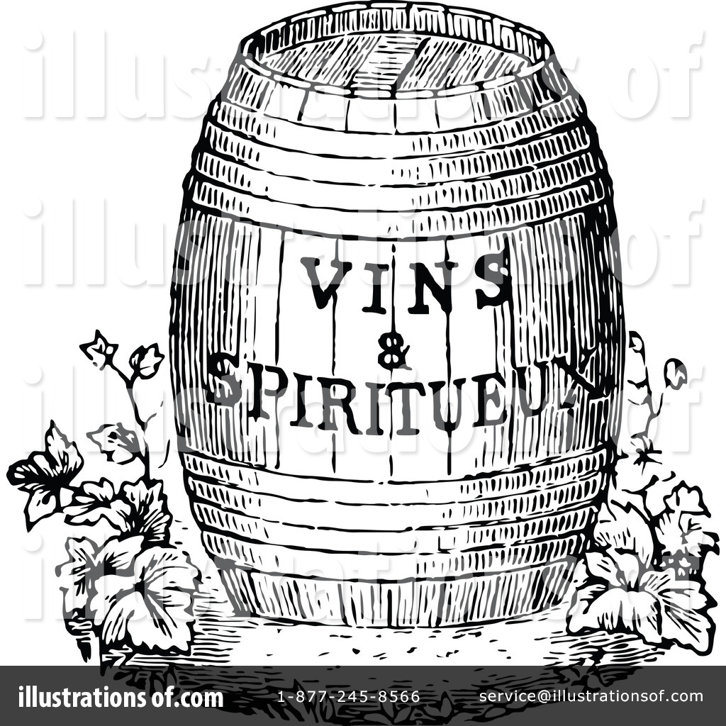 Retro clipart wine #8