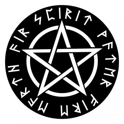 Reversed clipart Clip Reverse Pentagram Art White