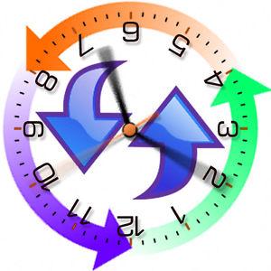 Reversed clipart clock Movement Strange Reverse Down Backwards