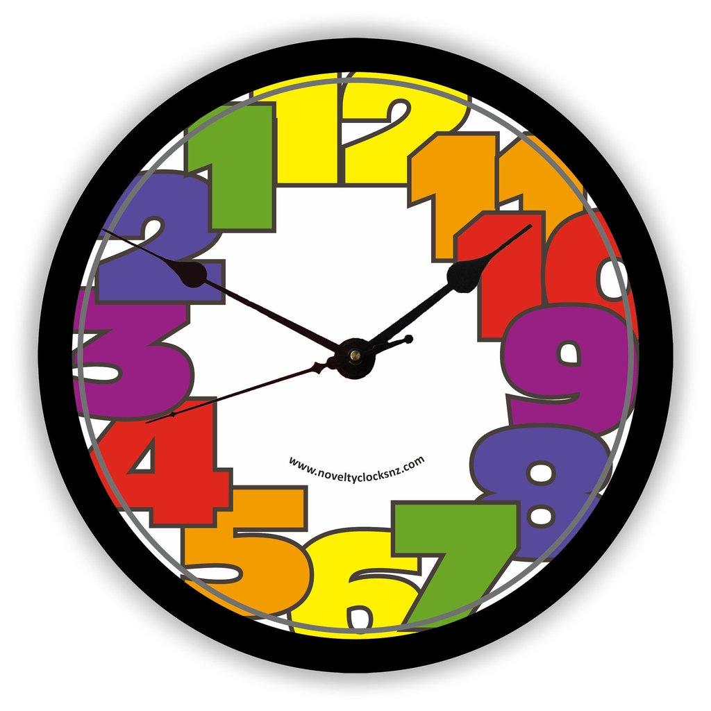 Reversed clipart clock Novelty In Anticlockwise In Reverse
