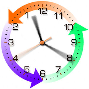 Reversed clipart clock Unusual Gift Clockwise Anti Backwards