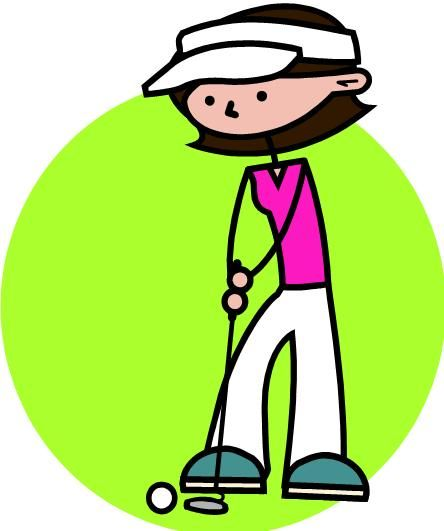 Golf Ball clipart lady golfer Golfer Art 14 images on
