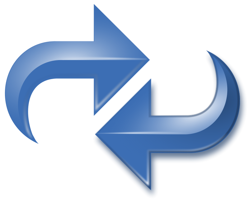 Reversed clipart word Blue Art Art Double on