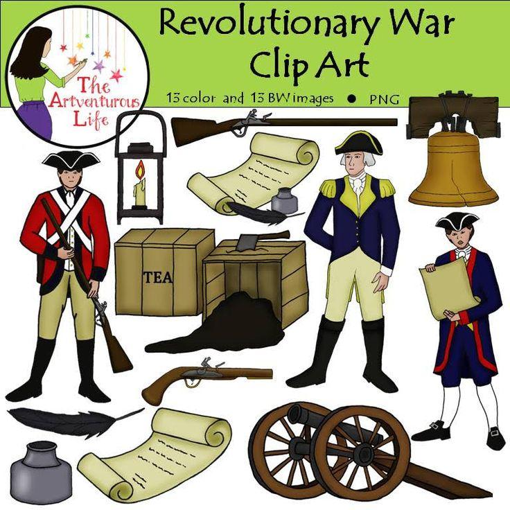Us History clipart revolutionary war American American soldier Soldier Clipart