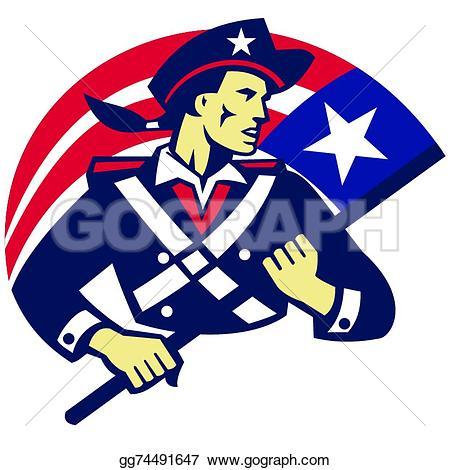 Revolution clipart american revolution American holding Revolution Royalty american