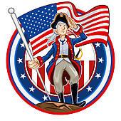 Revolution clipart american revolution American Free flag Patriot Revolution