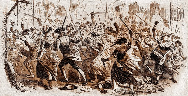 Revolution clipart angry crowd Marie  Antoinette
