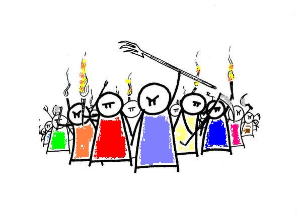 Revolution clipart angry crowd Tapping Mad Open Harbor Thirsty