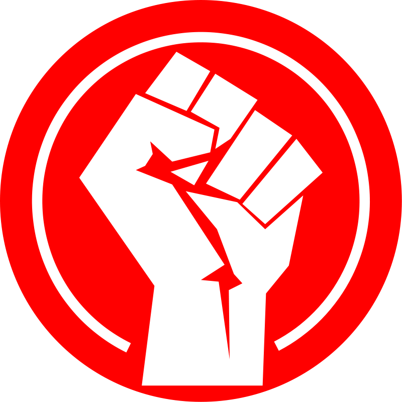 Fist clipart red #2