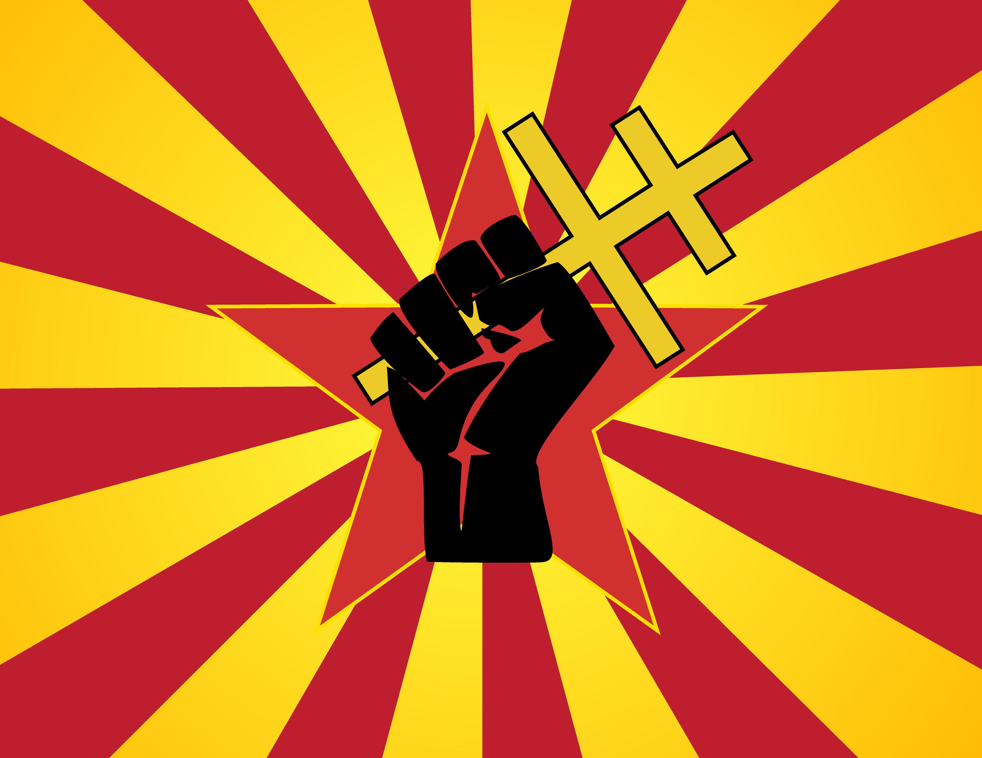 Fist clipart small Novaya Fist Revolution Flag library