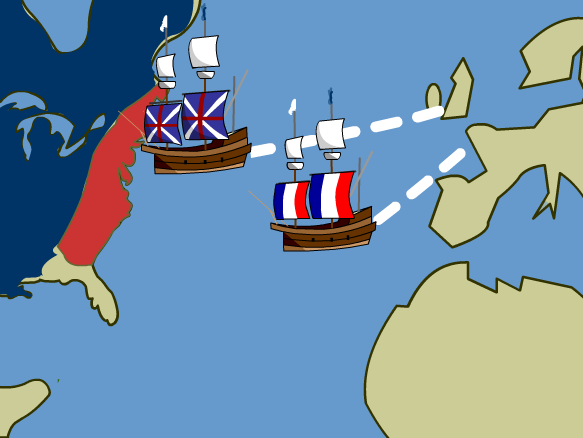 Civil War clipart french and indian war BrainPOP French War  Indian