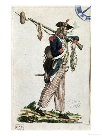 Revolution clipart french soldier A Revolution Bread Bayonet Loaf