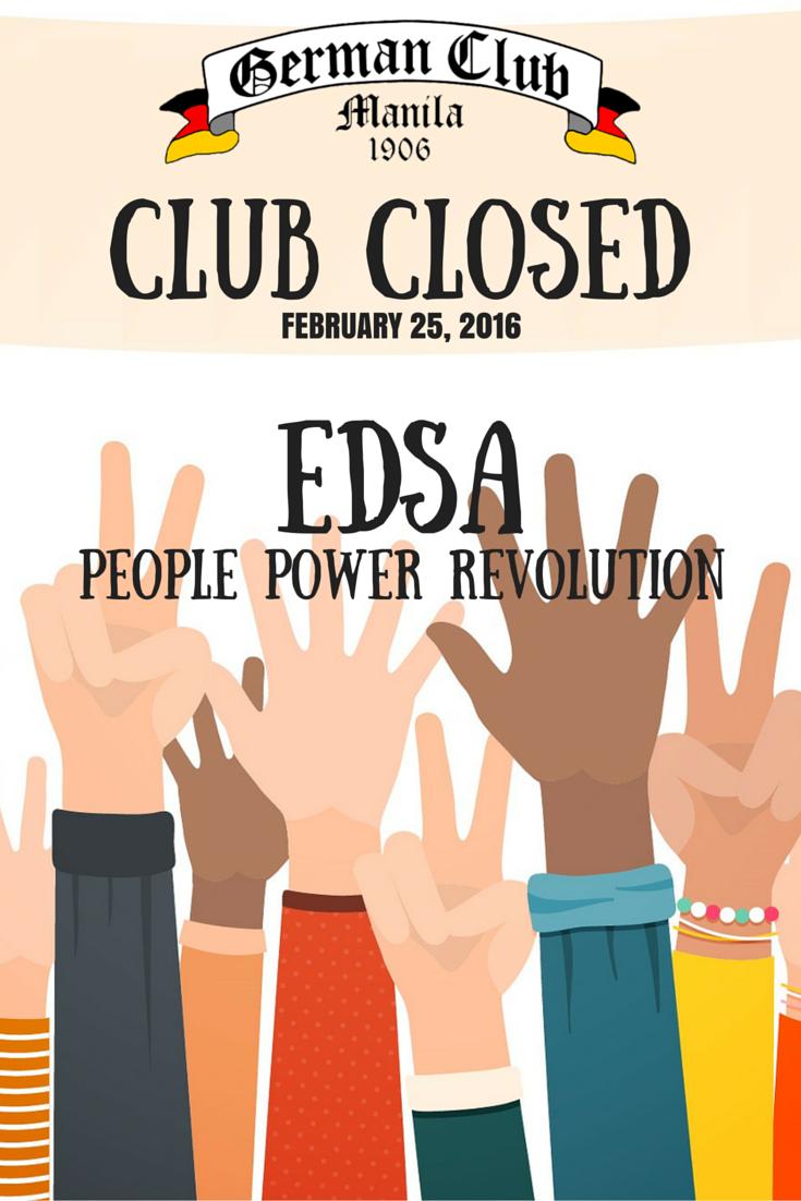 Revolution clipart people power – PEOPLE REVOLUTION EDSA Power