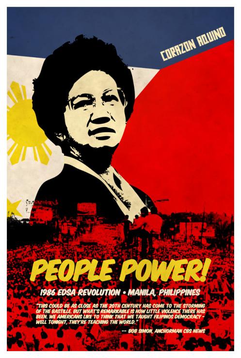 Revolution clipart people power Centre On Power Philippine Kapisanan
