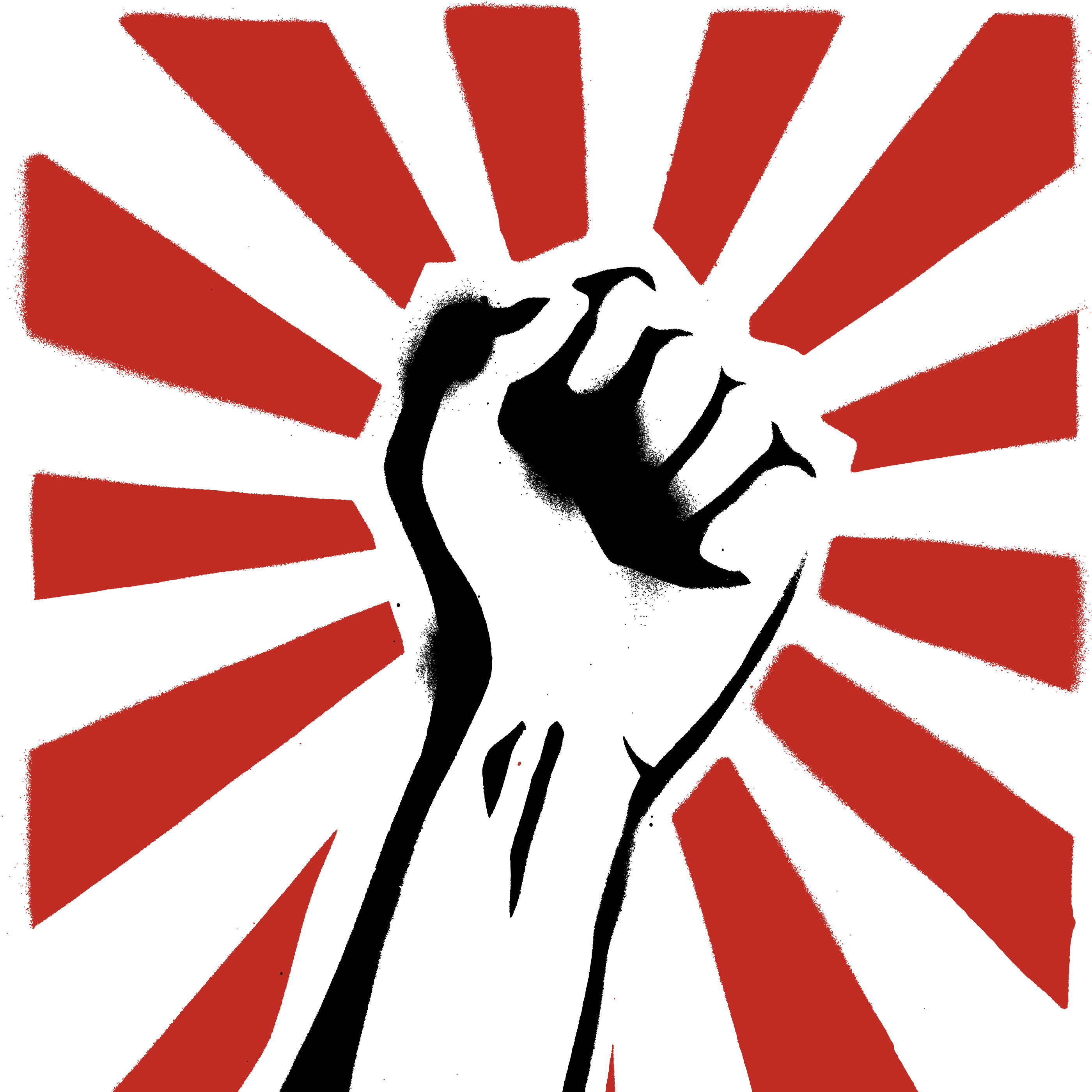 Revolution clipart people power Clipart fist clipart (47+) Power
