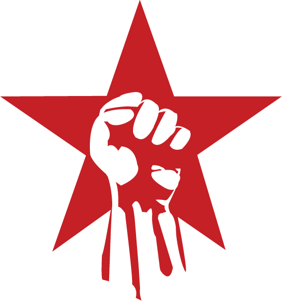 Revolution clipart red On on red  by