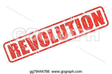 Revolution clipart red Text Drawing Art  gg79444766