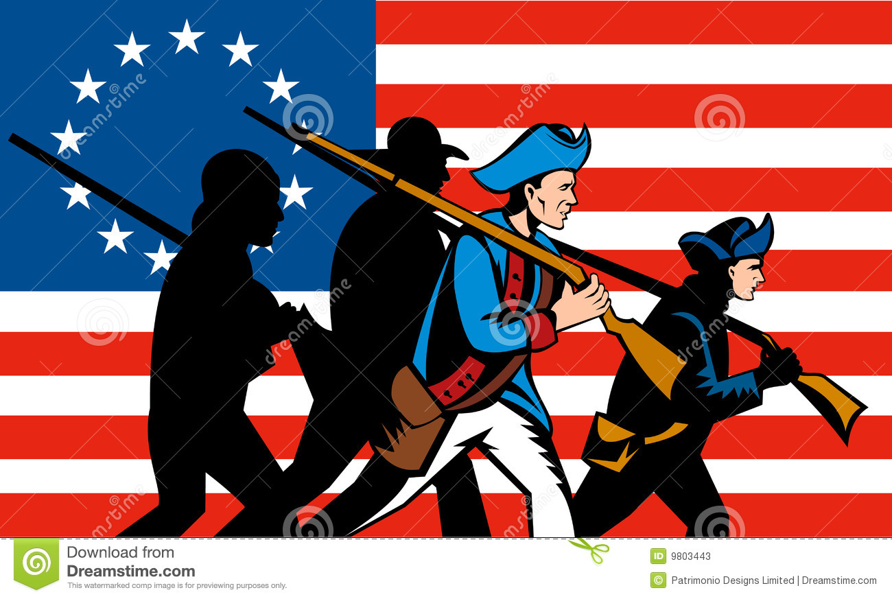 American Flag clipart american revolution Trapezoid Clipart Illustrations and Shapes