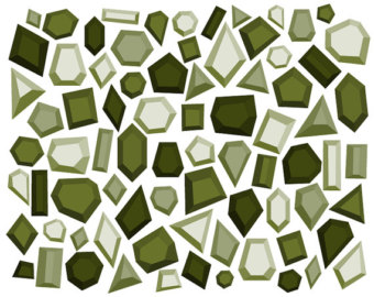 Rhinestone clipart modern border Digital Geometric Clipart Clipart Art