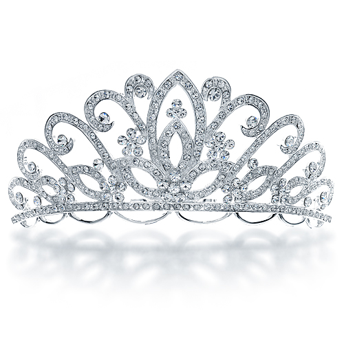 Silver clipart princess crown Photo#18 Background White Crown background
