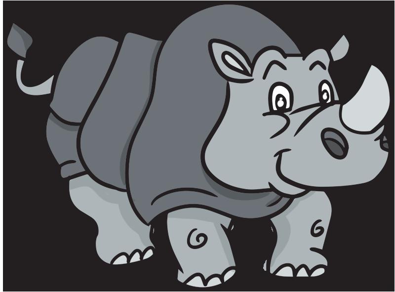 Rhino clipart Clipart Cute Clipart and Rhino