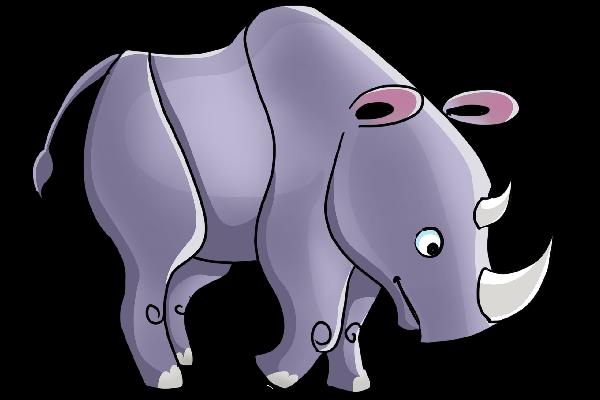 Rhino clipart Rhino Rhino The Clipart Cliparts