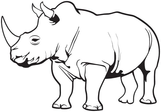 Rhino clipart Clipart  png Rhino html