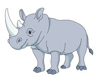 Rhino clipart Clipart african Art 45 Free