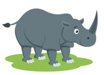 Rhino clipart Size: Rhinoceros Pictures Kb Rhino